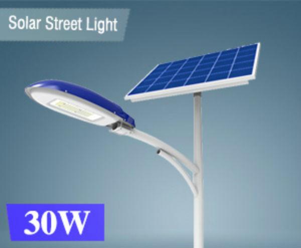 Đèn đường dùng năng lượng mặt trời STA-30W