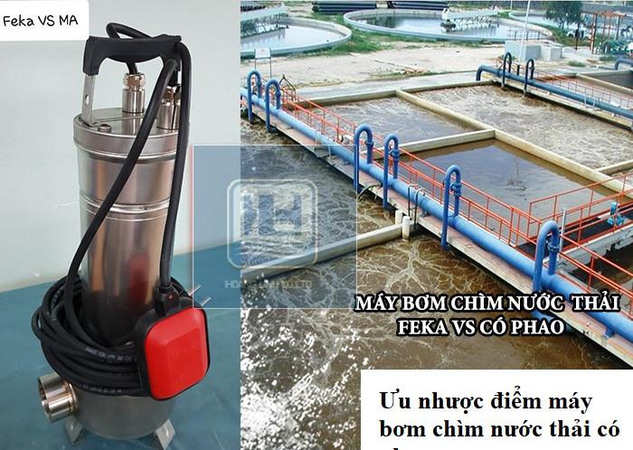 Máy bơm chìm nước thải Feka VS hãng DAB