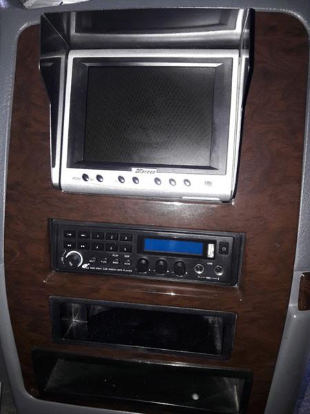 Màn hình LCD hiển thị camera sau