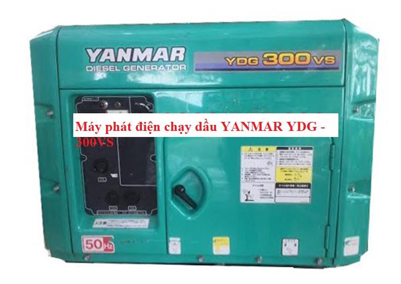 MÁY PHÁT ĐIỆN CHẠY DẦU YANMAR YDG - 300VS