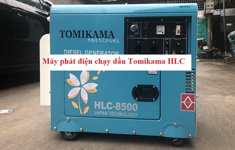 Máy phát điện chạy dầu Tomikama HLC - 8500