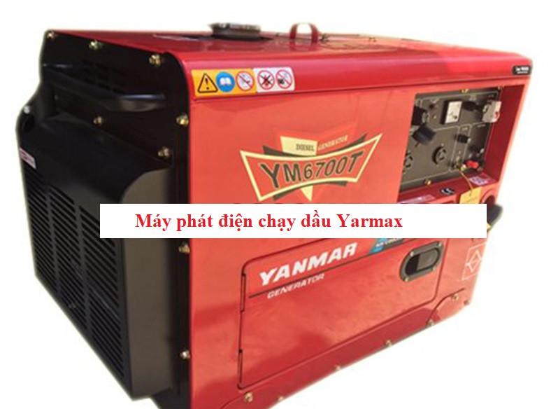 MÁY PHÁT ĐIỆN CHẠY DẦU YARMAX - YM6700T