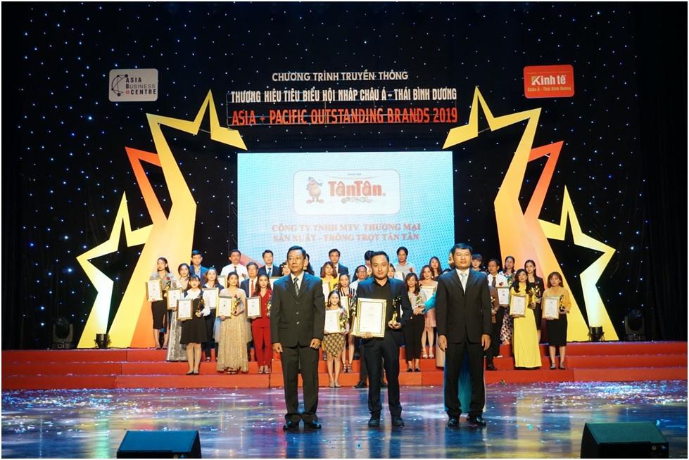 Công ty Tân Tân xuất sắc lọt TOP 10 Thương Hiệu Tiêu Biểu Hội Nhật Châu Á – Thái Bình Dương 2019