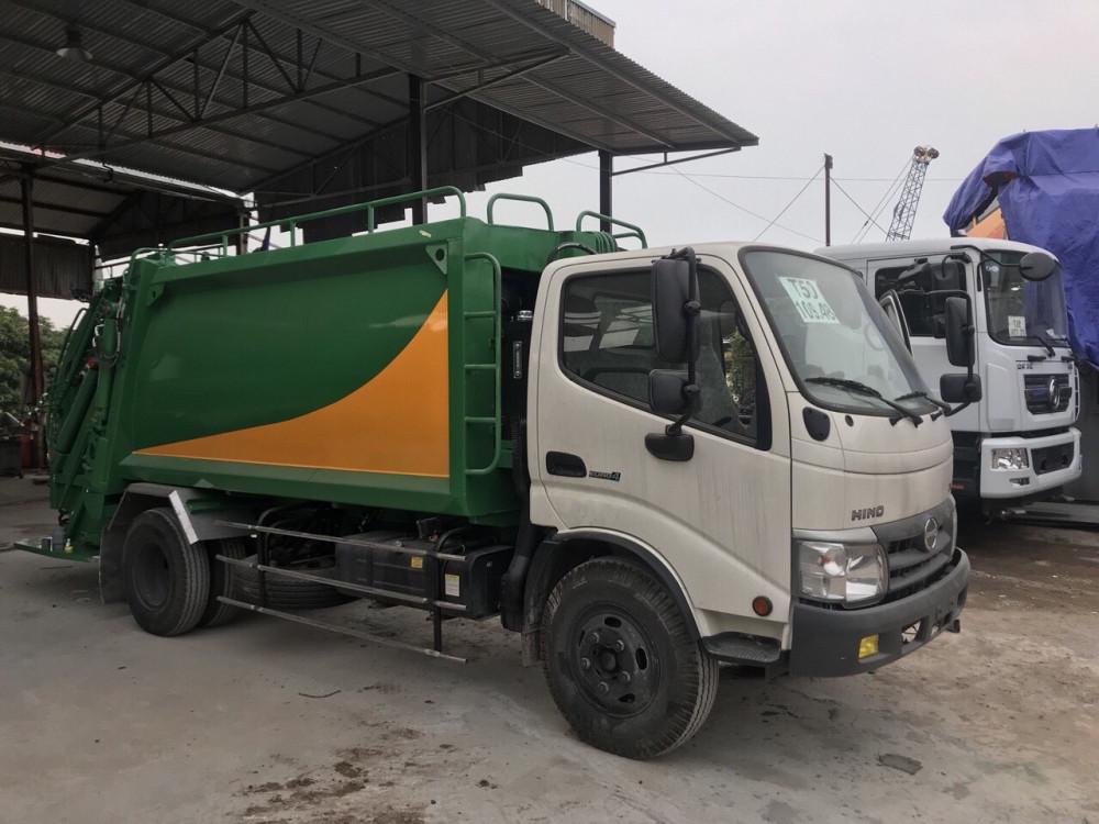 Thống số kỹ thuật xe cuốn ép rác Hino 5 khối