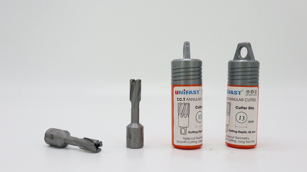 Cấu tạo của mũi khoan từ TCT cơ bản gồm 3 phần