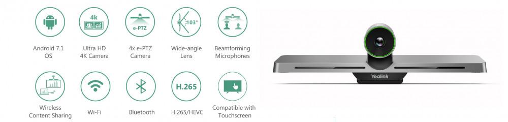 Review thiết bị hội nghị truyền hình thông minh Yealink VC200