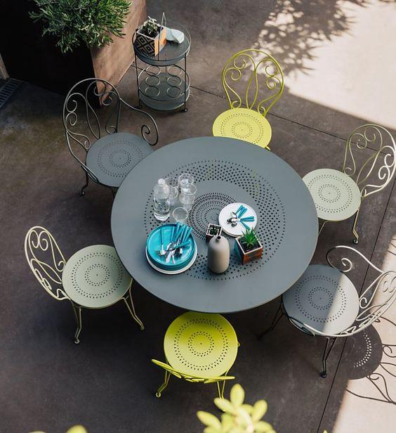 Thiết kế, gia công công bàn ghế sắt mỹ thuật sang trọng(2)