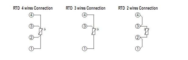 Cách đấu dây các loại cảm biến đo nhiệt độ 2 dây, 3 dây, 4 dây vào bộ chuyển đổi