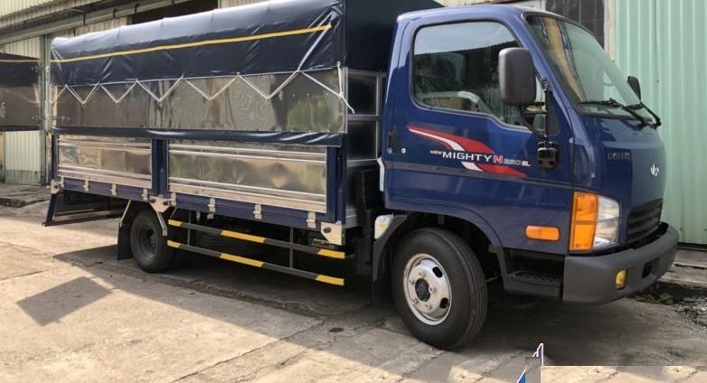 Đại lý bán xe tải Hyundai 2T5 thùng dài, xe tải Hyundai N250SL thùng dài 4.3 mét