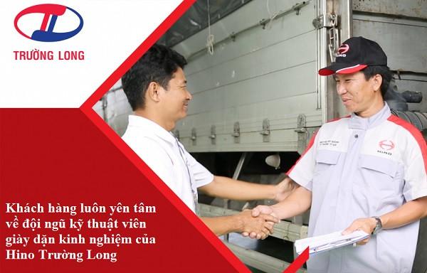 Chính sách bảo hành, bảo dưỡng của xe tải Hino Trường Long(1)