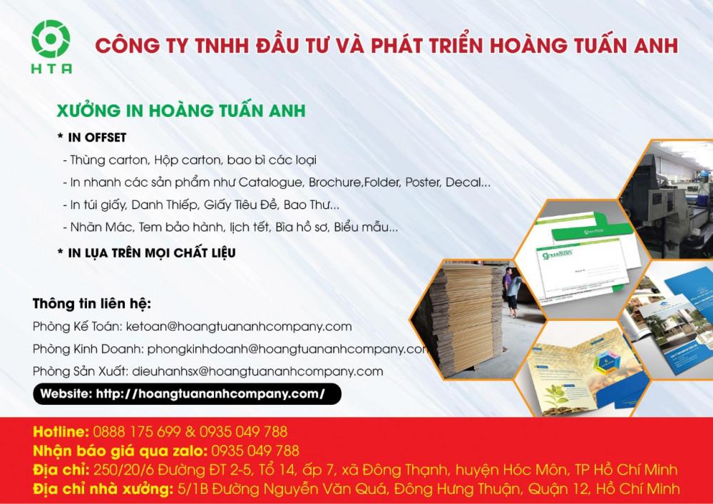 Xưởng in lịch tết giá rẻ tại tphcm