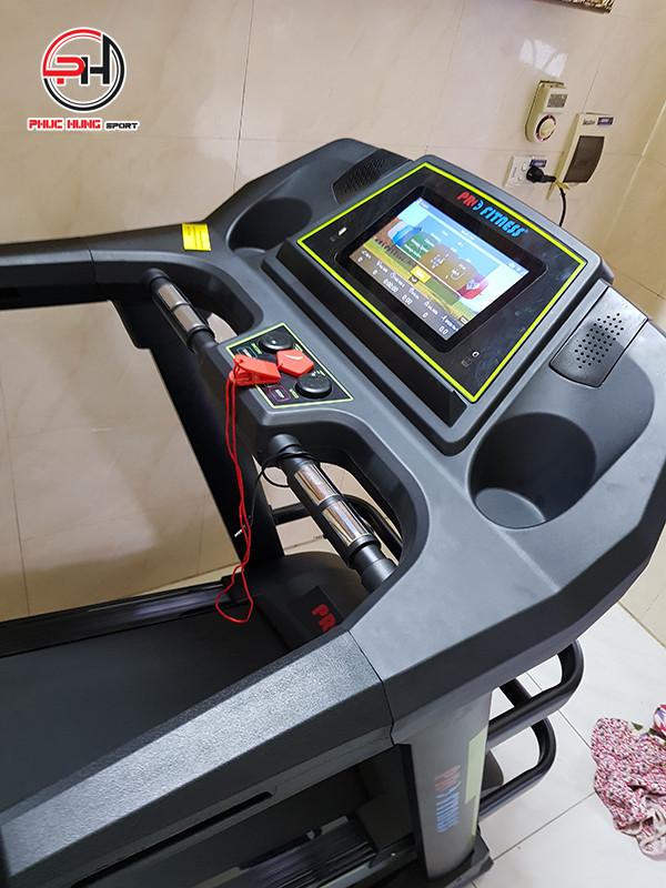 Hình ảnh chi tiết và tính năng máy chạy bộ điện Pro Fitness PF-115