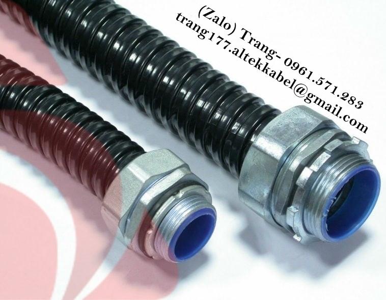 Kết cấu ống ruột gà độ bền cao, đầu nối ống ruột gà 1