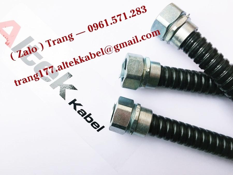Kết cấu ống ruột gà độ bền cao, đầu nối ống ruột gà