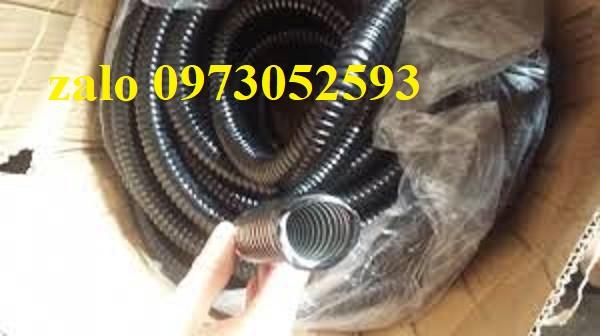 Ứng dụng ống ruột gà lõi thép luồn dây điện: