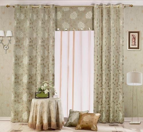 Rèm vải phòng khách đầy tinh tế & khéo léo