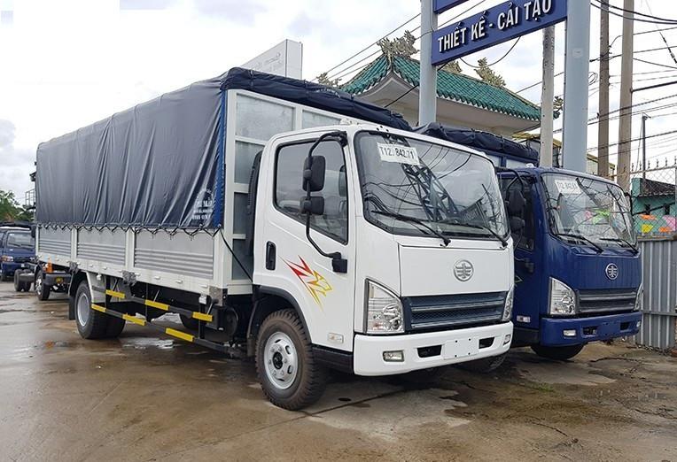Xe tải Faw - Đại lý bán xe tải Faw 7 tấn máy Hyundai đời 2017 ga cơ