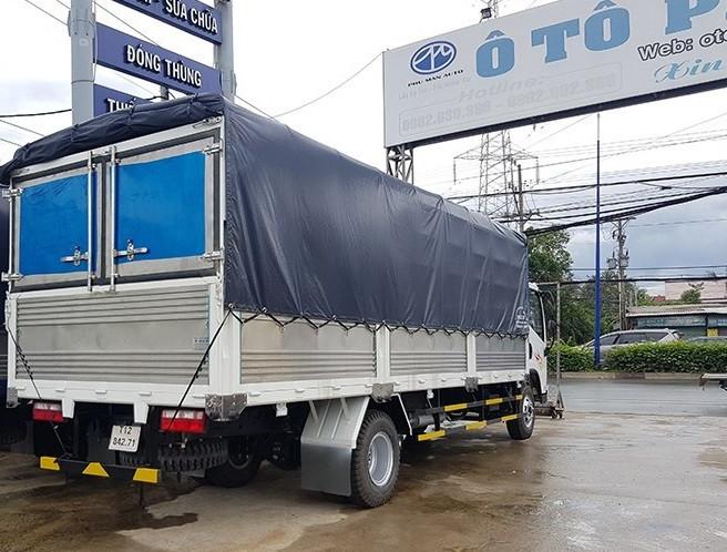 Xe tải Faw - Đại lý bán xe tải Faw 7 tấn máy Hyundai đời 2017 ga cơ(1)