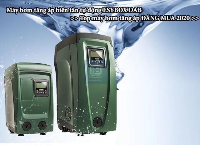 Máy bơm tăng áp biến tần Esybox DAB (Ý) tiết kiệm điện và hiệu quả