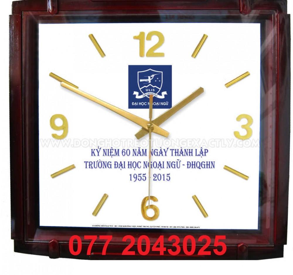 Xưởng in đồng hồ làm quà tặng kỹ niệm năm thành lập nhận làm từ 50 cái