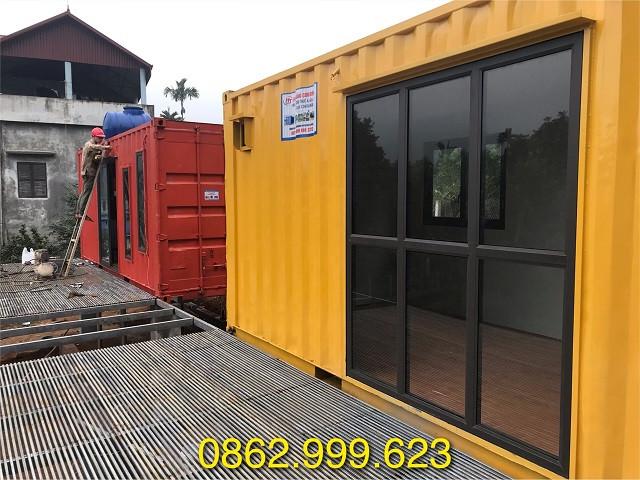 Nhà container tạiThạch Thất Hà Nội