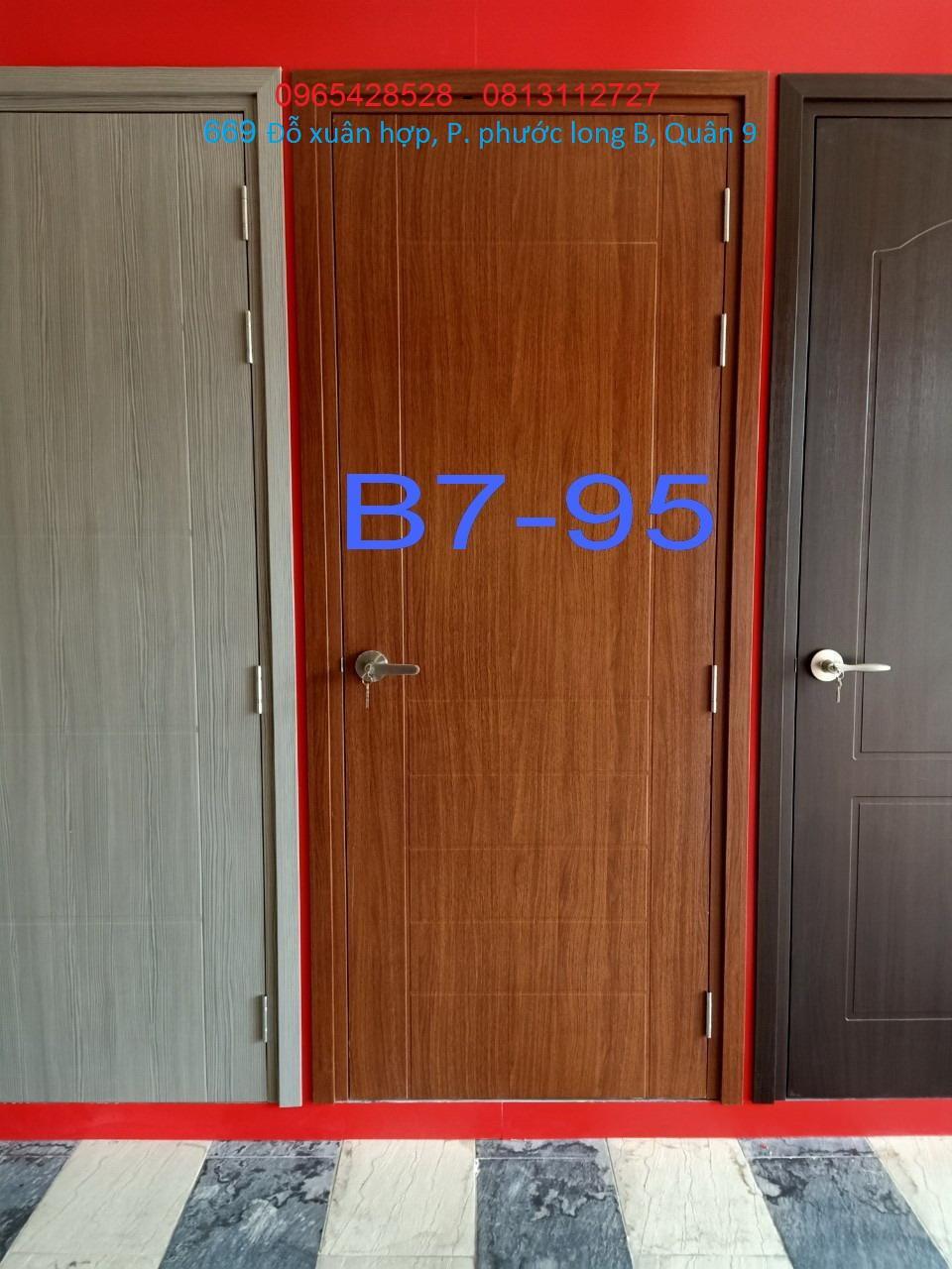 Ưu điểm của cửa nhựa giả gỗ composite