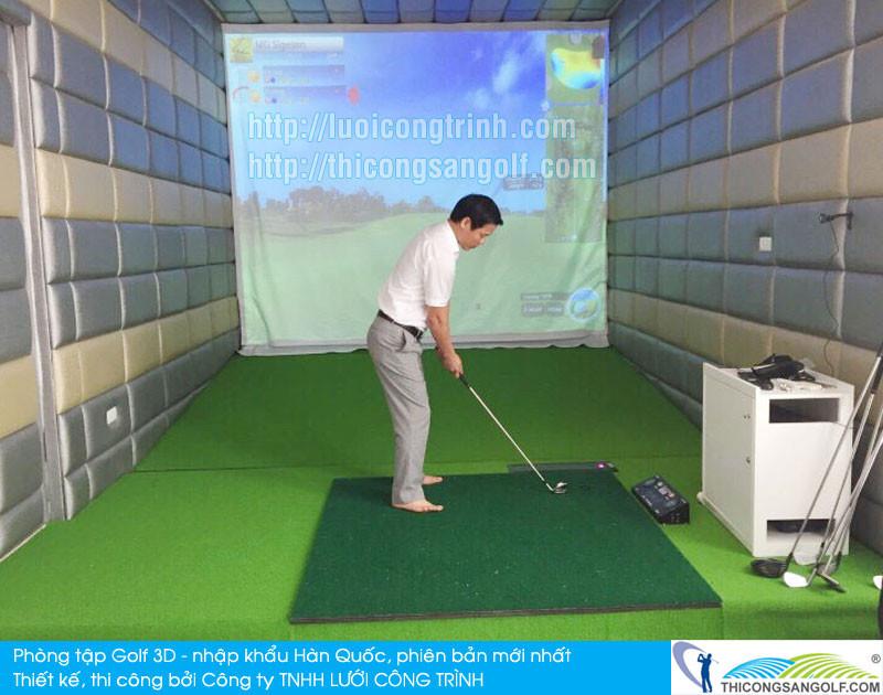Thiết kế phòng Golf 3D