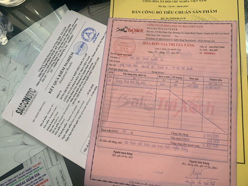 Mua nước rửa tay khô phòng ngừa virus Corona có hóa đơn  tại Suong's House