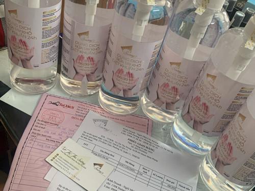 Cồn sản xuất nước rừa tay khô giá sỉ Suong's House giao tận nơi