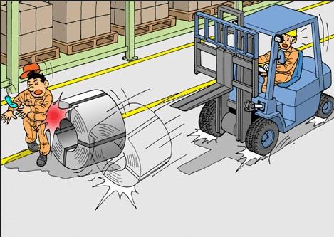 Tai nạn có thể xảy ra nếu bạn vi phạm các nguyên tắc(1)