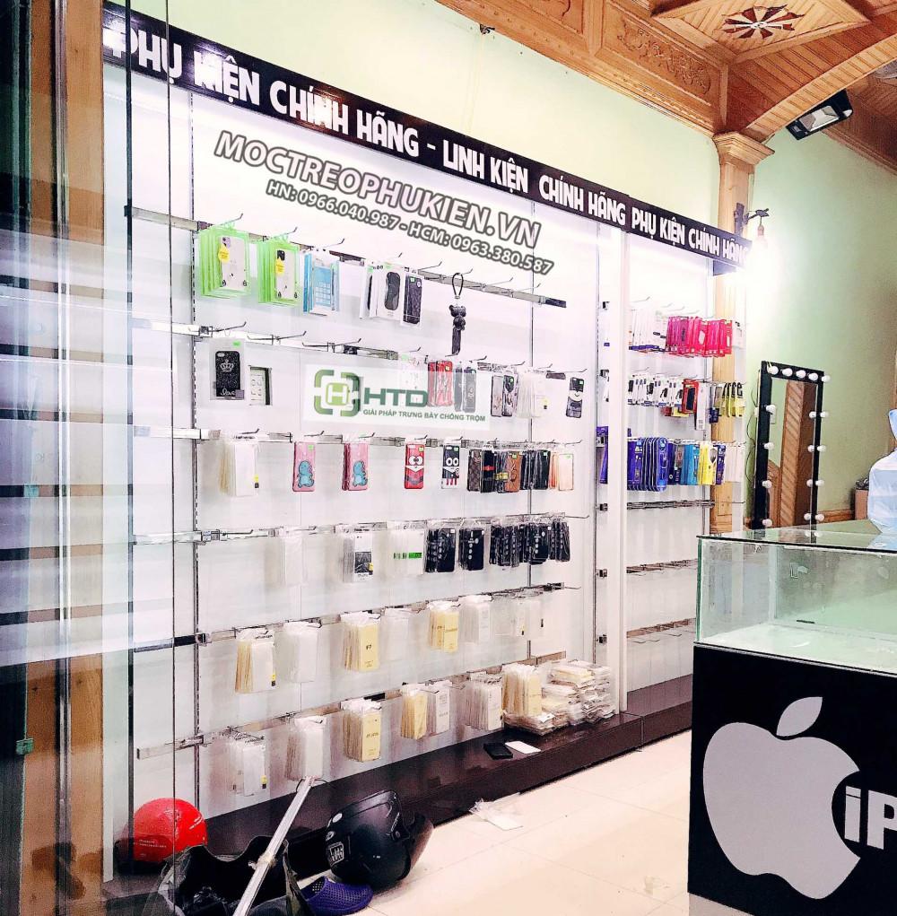 Lợi ích của việc sử dụng giá kệ treo phụ kiện điện thoại HTD