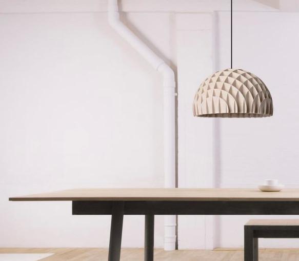 Top 10 mẫu đèn trang trí gỗ cho phòng ăn đẹp lung linh - Ảnh: 7