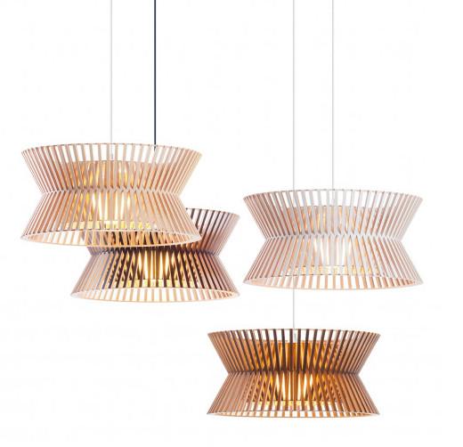 Top 10 mẫu đèn trang trí gỗ cho phòng ăn đẹp lung linh - Ảnh: 8