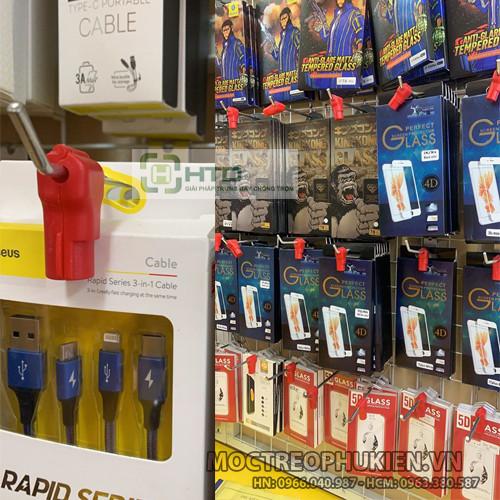 Giải pháp chống trộm hàng trưng bày tại các siêu thị - HTD