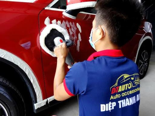 Xưởng chuyên may đồng phục cho các gara auto care - áo thun, quần, mũ, nón