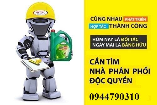 Dầu nhớt hàng đầu Việt Nam - tuyển nhà phân phối độc quyền