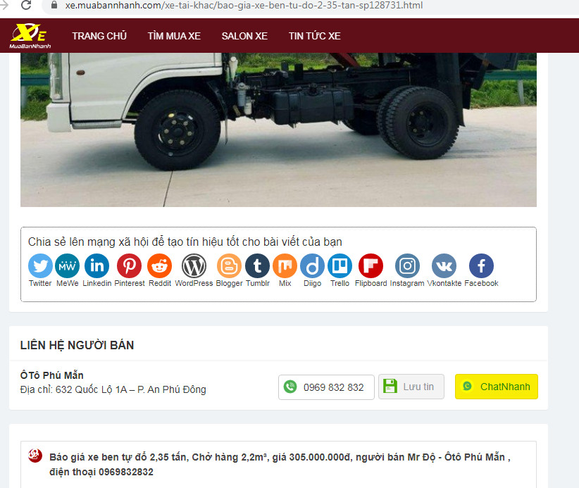 Đăng tin Bán hàng online, mua bán online rao vặt hiệu quả cùng Bùi Tình MuaBanNhanh