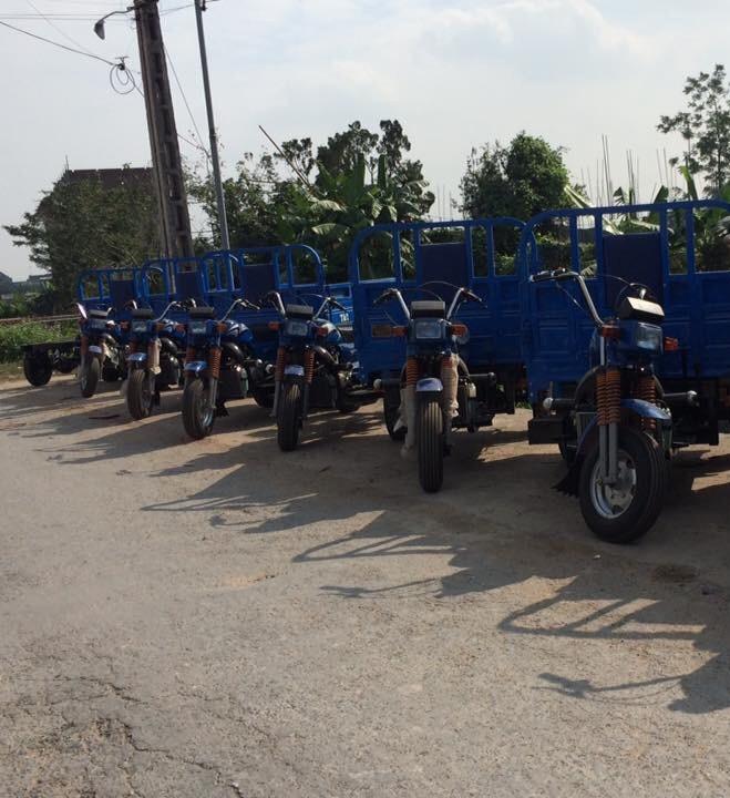 Giá  xe lôi ba bánh, xe Hoa Lâm chở hàng xe lôi ba bánh Đức Hoàng TPHCM