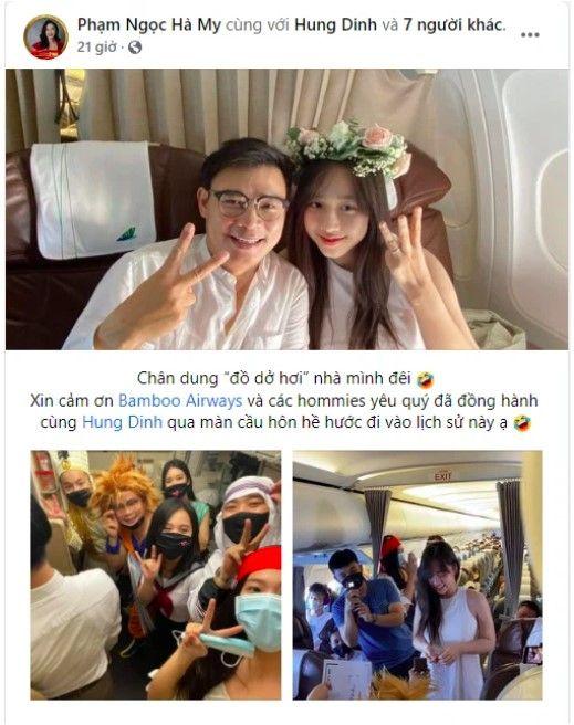CEO Hùng Đinh cầu hôn trên mây thành công, rước MC VTV24 kém 16 tuổi về dinh - Ảnh: 2