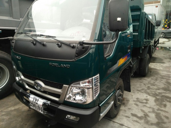 Thông số kỹ thuật, hình ảnh xe ben Thaco Forland FLD 250 2 tấn 5 (2,5 tấn)