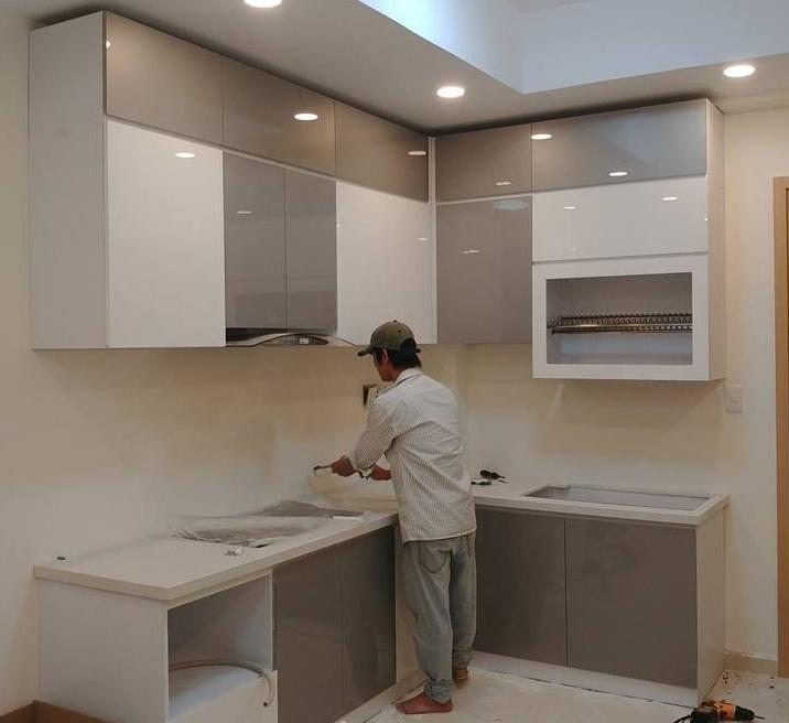 Tủ bếp Thủ Đức – Thi công đóng tủ bếp ở thủ đức