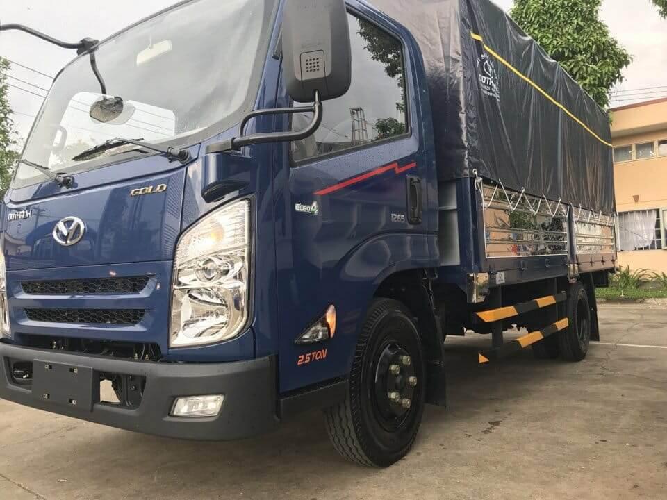 xe tải Hyundai Iz45 2.5 tấn mới vào thành phố
