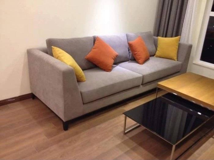 Sofa vải giá rẻ đẹp phòng khách tại TPHCM