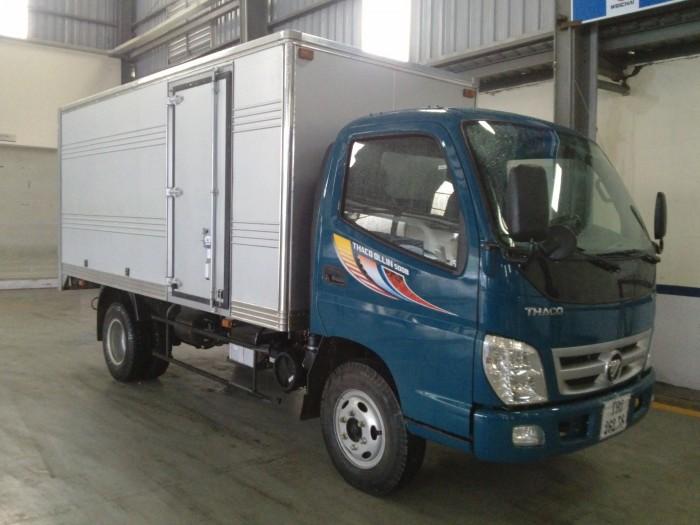 Tải nhẹ Thaco Ollin345 nhiều tính năng ưu việt, hiệu quả kinh tế cao