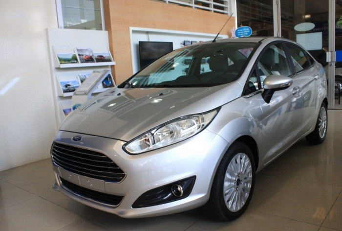 ngoại thất Ford Fiesta