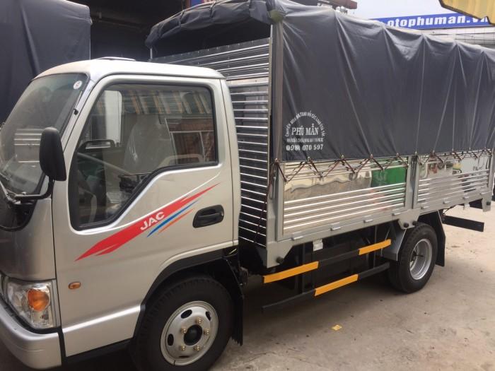 Xe tải jac 2t4 công nghệ isuzu, thủ tục nhanh gọn, lãi suất thấp