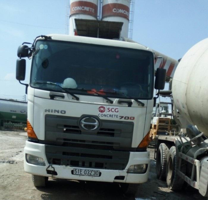 Xe bồn trộn Hino 700 chất lượng công ty TNHH Tân Đại Tây Dương