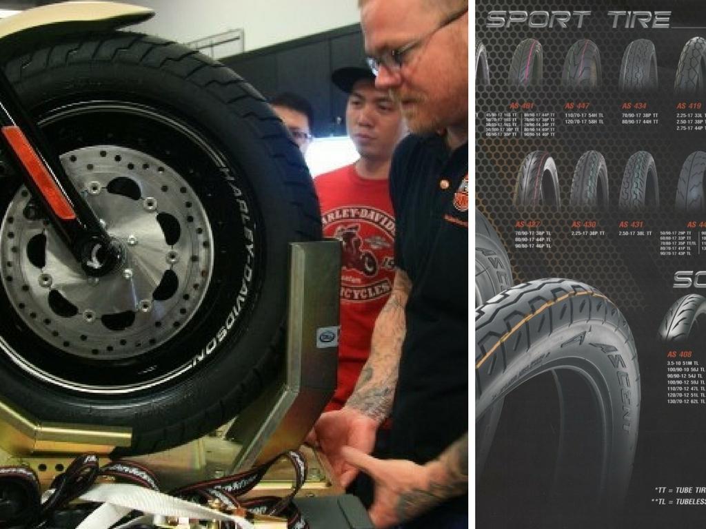 Những lưu ý cần biết để giữ lốp xe máy được bền và an toàn