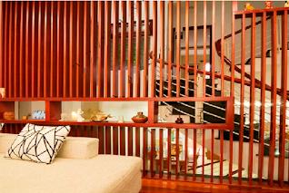 Các mẫu vách ngăn cầu thang đẹp phù hợp cho gia đình(1)
