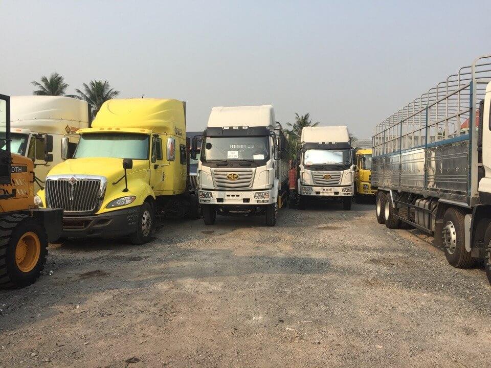 đa dạng các dòng xe tải, xe chuyên dùng tại Công ty Ô Tô Phú Mẫn